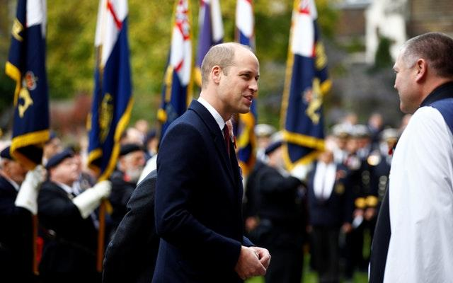 The Duke of Cambridge attends the Submariners' Remembrance Service and Parade
