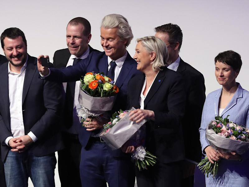 EU election polls: Right-wing populist and Eurosceptic parties would be biggest single group in European parliament