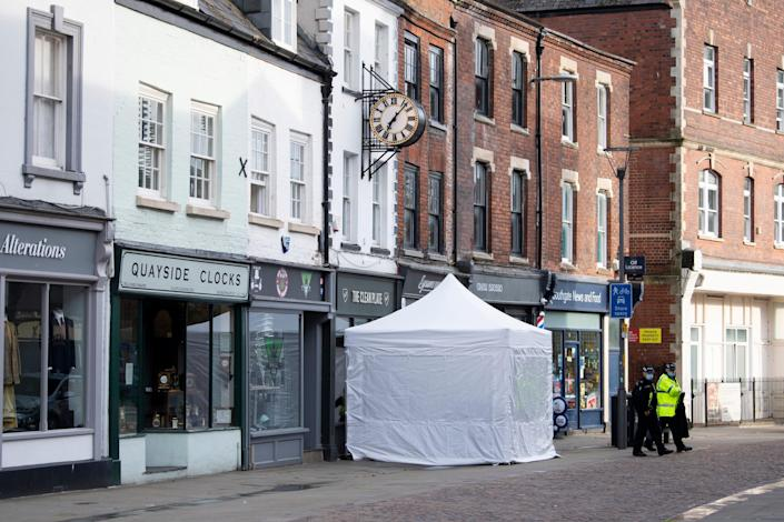 Police opened a search for Mary Bastholm's remains at The Clean Plate cafe in GloucesterGetty