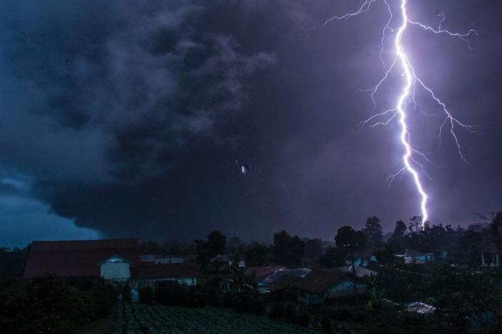 More than 30 people were taken to hospital early Saturday after lightning struck a music festival in western Germany (AFP Photo/Sutanta Aditya)