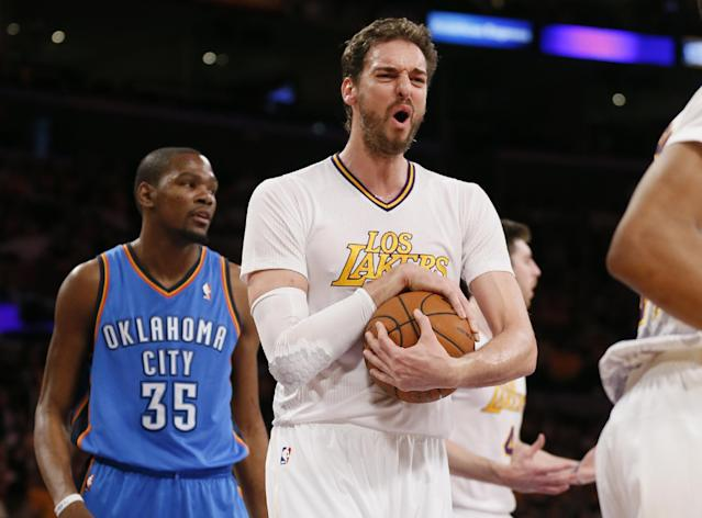 Pau Gasol leaving Lakers for Bulls