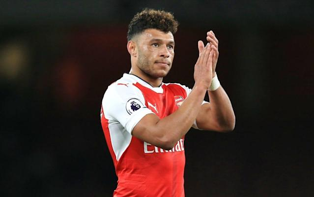 Arsenal have yet to hold any formal talks with Oxlade-Chamberlain over a new contract - Rex Features