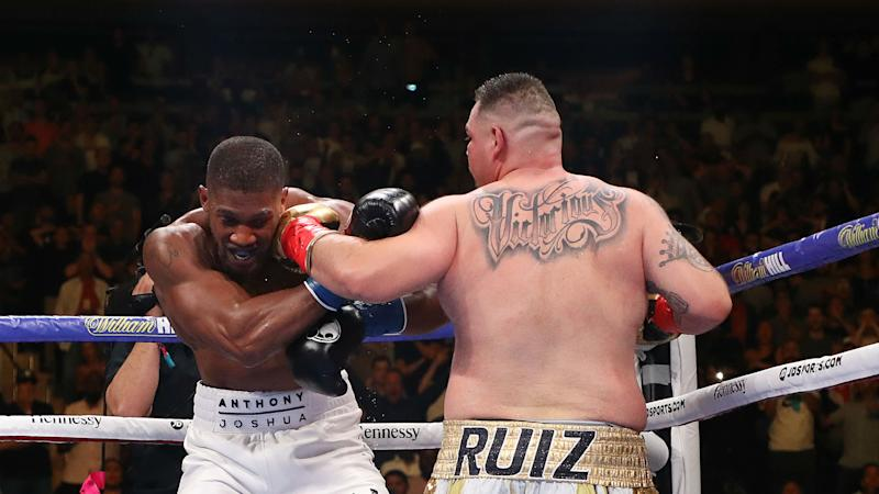 Anthony Joshua confident he'll 'whoop' Andy Ruiz Jr in the rematch