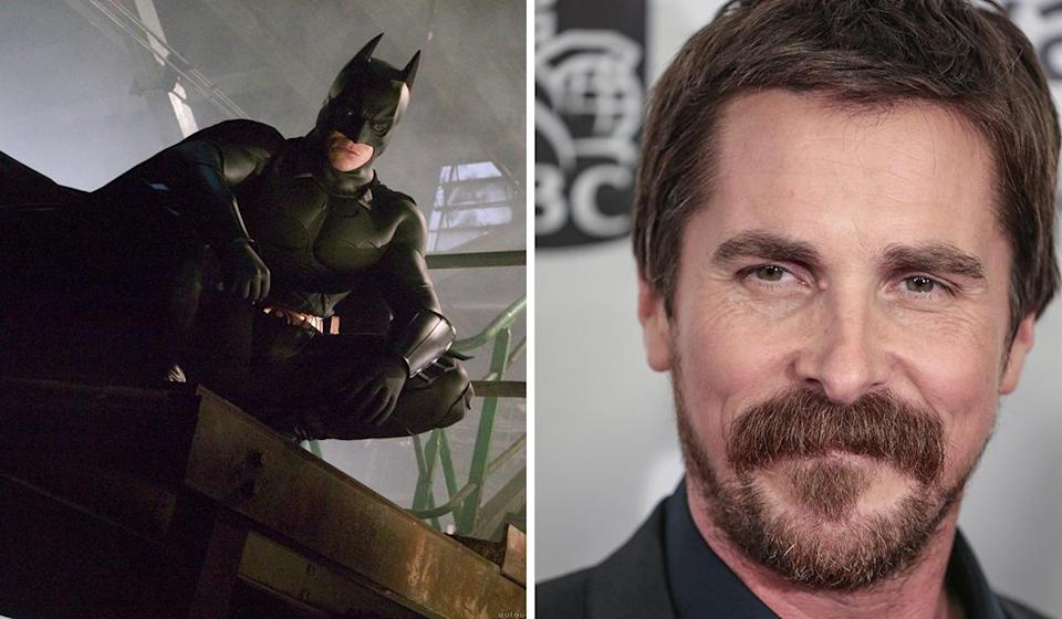 <p>His almost inaudible rasp beneath the cowl may have caused a few sniggers, but the British actor's turn as Bruce is generally considered one of the best there's been. Maybe he can be tempted back if Affleck does hang up the cape. </p>