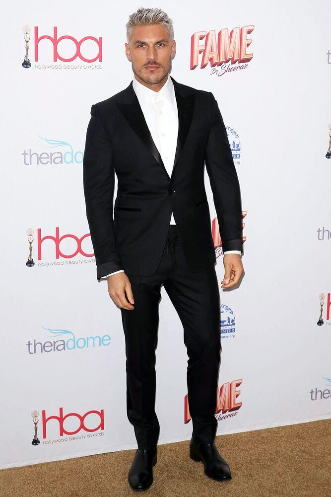 Hairstylist Chris Appleton at the 2020 Hollywood Beauty Awards.   Willy Sanjuan/Invision/AP/Shutterstock
