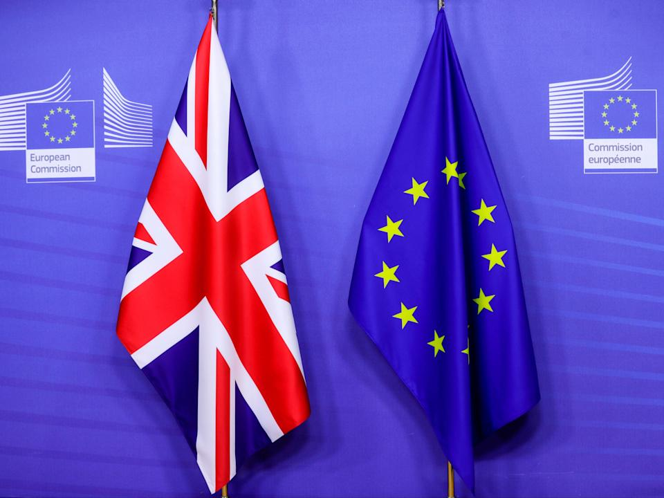 The UK officially left the EU on 31 January 2020 (POOL/AFP via Getty Images)