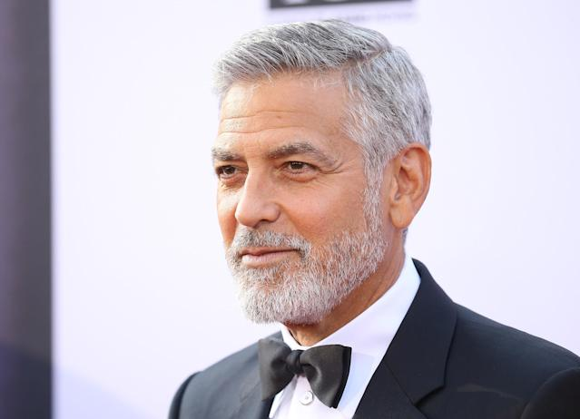 George Clooney at the American Film Institute's 46th Life Achievement Award Gala, where he was honored, on June 7 in Hollywood. (Photo: Getty Images)