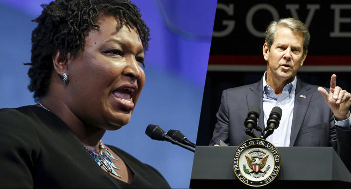 Abrams rips Kemp for handling of vulnerabilities in Georgia voter system
