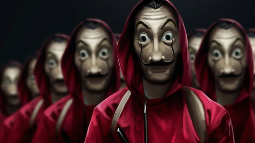 "<span class=""caption"">It even inspired the global TV hit, La Casa de Papel </span> <span class=""attribution""><span class=""source"">Netflix</span></span>"