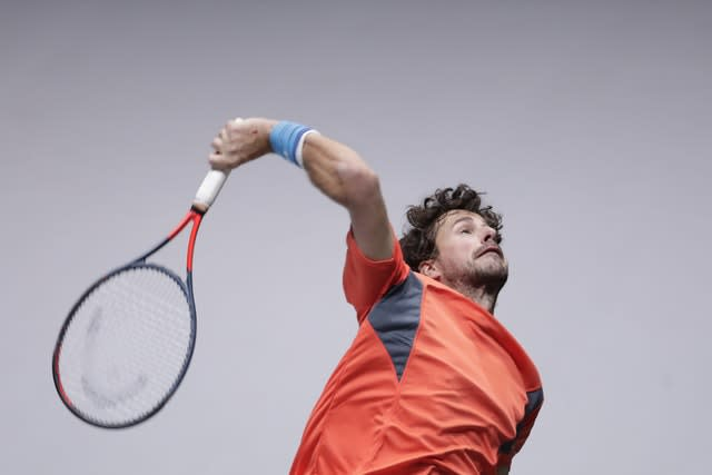 Robin Haase is the number one Dutch player (Manu Fernandez/AP)