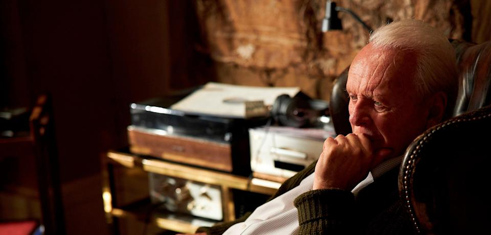 Anthony Hopkins won Best Actor for his role in 'The Father'AP
