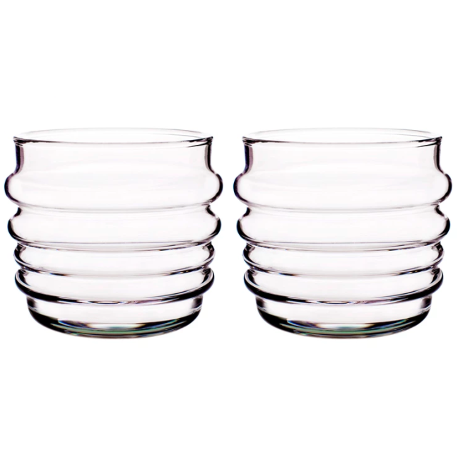 """I didn't intend for all of my picks to be drinks related but here we are! These Marimekko glasses have been high on my wish list for too long. Nothing against my <a href=""""https://www.ikea.com/gb/en/p/ikea-365-glass-clear-glass-10278356/"""" rel=""""nofollow noopener"""" target=""""_blank"""" data-ylk=""""slk:IKEA glasses"""" class=""""link rapid-noclick-resp"""">IKEA glasses</a> but sometimes it's nice to switch things up a bit with something more fun.<br><br><strong>Marimekko</strong> Sukat Makkaralla tumbler 2-pack from Marimekko, $, available at <a href=""""https://www.nordicnest.com/brands/marimekko/sukat-makkaralla-tumbler-2-pack/"""" rel=""""nofollow noopener"""" target=""""_blank"""" data-ylk=""""slk:Nordic Nest"""" class=""""link rapid-noclick-resp"""">Nordic Nest</a>"""