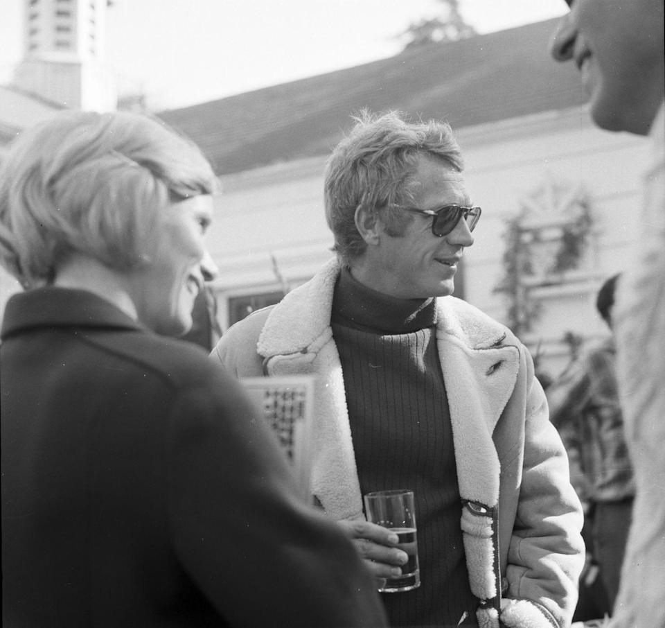<p>At 40, McQueen was in the prime of his career. Two years earlier, he starred in <em>Bullitt</em> and <em>The Thomas Crown Affair</em>. The following year he'd be in <em>Le Mans</em> and then, a year later, <em>The Getaway</em>. </p>