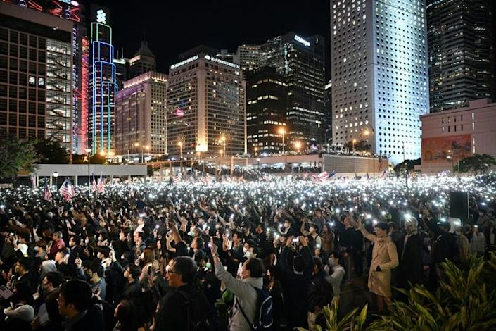 Huge and often violent democracy rallies convulsed Hong Kong for months in 2019