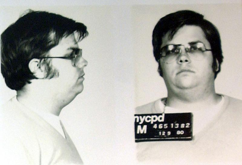 A mugshot of Chapman after he was jailed for 20 years to life for John Lennon's murder in December 1980Reuters