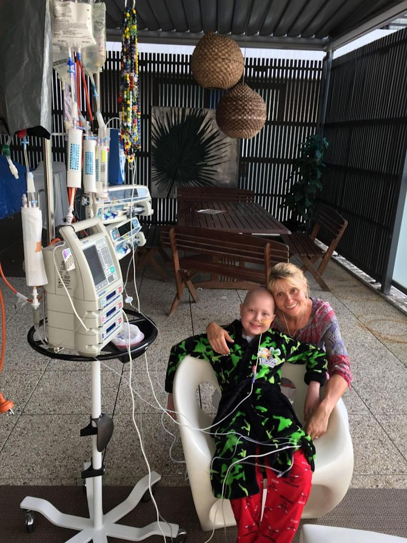 Doctors said Ollie would need a bone marrow transplant to survive. Photo: Supplied