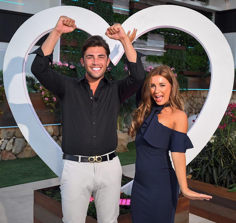 Jack won Love Island with Dani Dyer in 2018 (Photo: Rex)