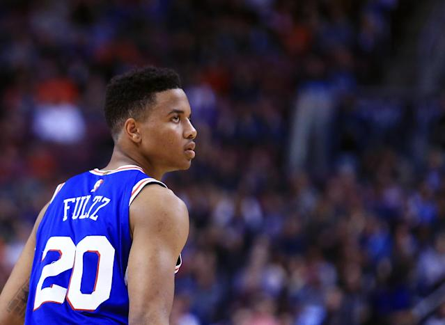 "The agent for 76ers No. 1 pick <a class=""link rapid-noclick-resp"" href=""/ncaab/players/136166/"" data-ylk=""slk:Markelle Fultz"">Markelle Fultz</a> had a pretty busy Tuesday evening. (Getty)"