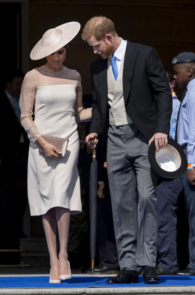 Meghan Markle and Prince Harry's First appearance as a married couple