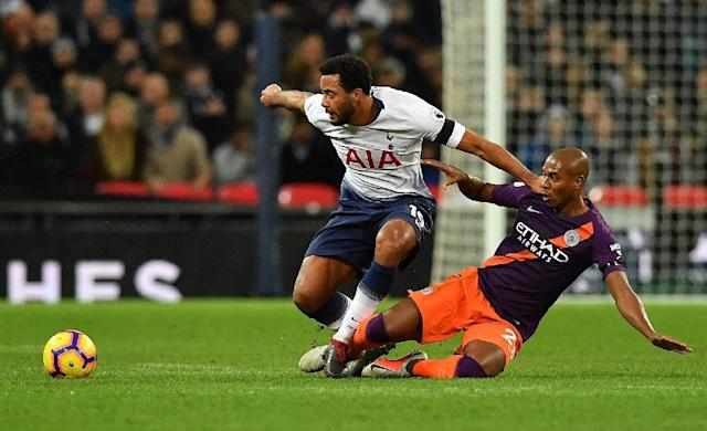 Mousa Dembele is regarded as one of the finest midfielders in the English Premier League when fit, but his appearances have become increasingly limited because of injury (AFP Photo/Ben STANSALL)