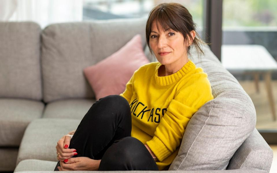 Davina McCall: 'Women become invisible as they hit midlife and that is not fair' - Andrew Crowley for The Telegraph