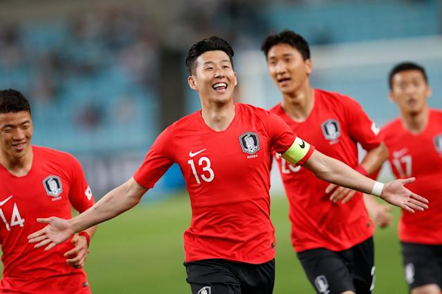 Tottenham star Heung-min Son hits spectacular goal as South Korea beat Honduras in World Cup 2018 warm-up