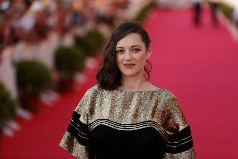 Marion gets raunchy in her new movie. Source: Getty