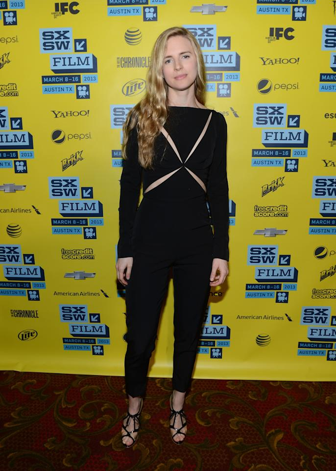 """AUSTIN, TX - MARCH 16:  Actress Britt Marling attends the premiere of """"The East"""" during the 2013 SXSW Music, Film + Interactive Festival at the Paramount Theatre on March 16, 2013 in Austin, Texas.  (Photo by Michael Buckner/Getty Images for SXSW)"""