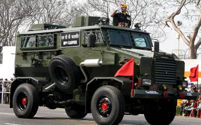 Shortage of anti-landmine vehicles poses huge challenge for security forces