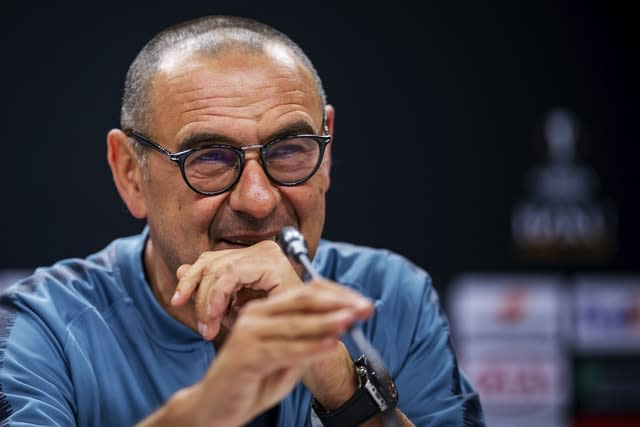 Maurizio Sarri guided Juventus to the Serie A title but was sacked following Champions League elimination