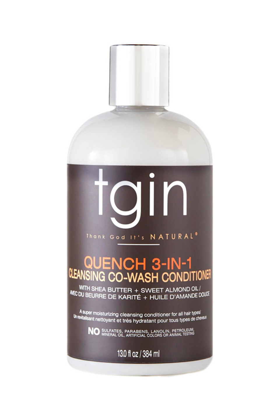 """<p><strong>tgin</strong></p><p>ulta.com</p><p><strong>$14.99</strong></p><p><a href=""""https://go.redirectingat.com?id=74968X1596630&url=https%3A%2F%2Fwww.ulta.com%2Fquench-3-in-1-cleansing-co-wash-conditioner-detangler-13oz%3FproductId%3Dpimprod2005392&sref=https%3A%2F%2Fwww.cosmopolitan.com%2Fstyle-beauty%2Fbeauty%2Fg36027428%2Fbest-detanglers-for-curly-hair%2F"""" rel=""""nofollow noopener"""" target=""""_blank"""" data-ylk=""""slk:Shop Now"""" class=""""link rapid-noclick-resp"""">Shop Now</a></p><p>The trick to detangling curls and coils without breakage? Start your detangling routine in the shower with this multitasking co-wash. The formula's shea butter and sweet almond <a href=""""https://www.cosmopolitan.com/style-beauty/beauty/g33444658/best-oils-for-curly-hair/"""" rel=""""nofollow noopener"""" target=""""_blank"""" data-ylk=""""slk:oil"""" class=""""link rapid-noclick-resp"""">oil</a> create the perfect amount of slip so you can <strong>gently detangle <em>as</em> you cleanse</strong>. Just don't forget to follow with your favorite conditioner, k?</p>"""