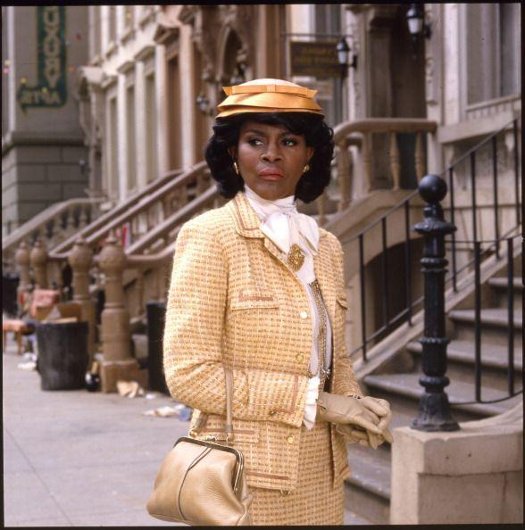 <p>Cher before Clueless became a staple, Ciciely Tyson's yellow tweed number while playing Mrs. Browne in <em>Women of Brewster Place</em> is one of her most iconic wardrobe moments. Based on Gloria Gaynor's critically acclaimed novel of the same name, the television mini-series garnered much praise and was produced by Oprah's Harpo Productions.</p>