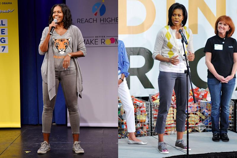 Remember When Michelle Obama's Sneakers Counted as a Political Controversy?