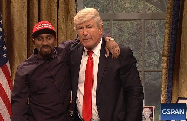 super popular 76159 58286  SNL   Alec Baldwin s Trump Returns to Have Lunch With Kanye –  He s Black  Me!  (Video)
