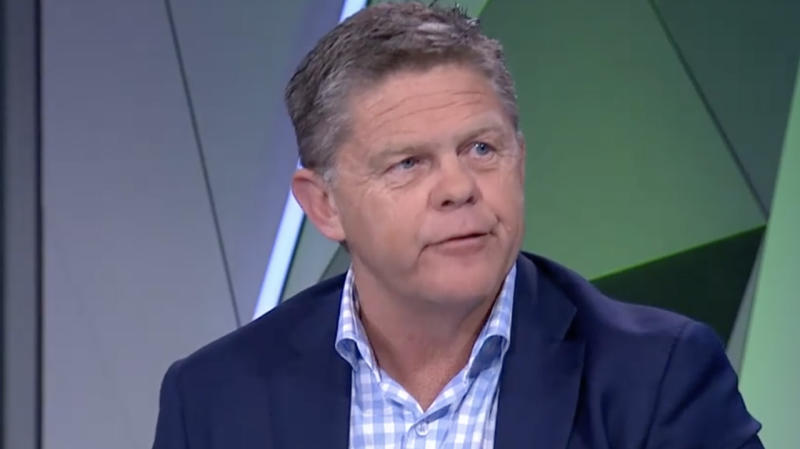 Paul Crawley (pictured) speaking on NRL 360.
