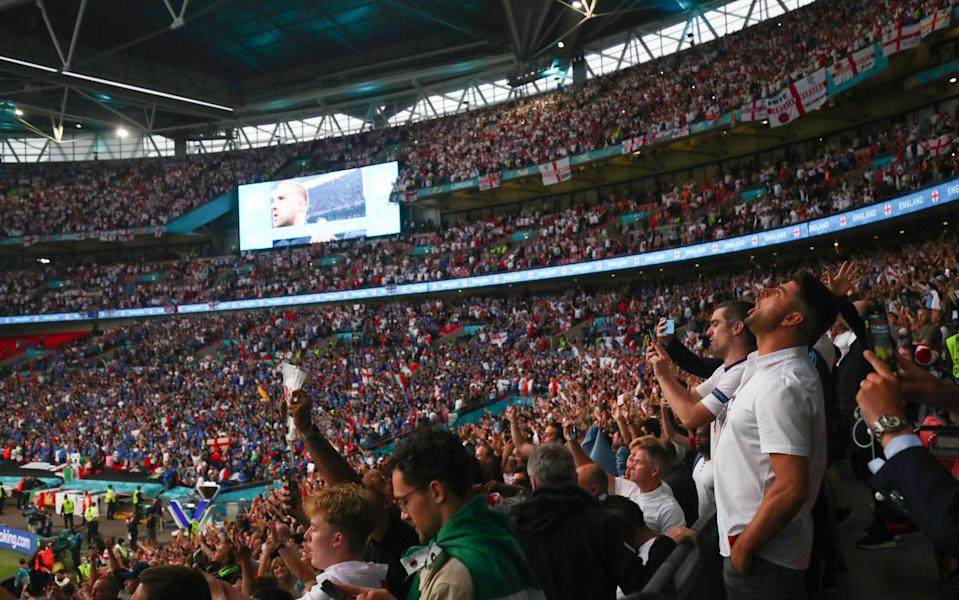 Fans at Euro 2020 final - Marc Atkins/Getty Images Europe