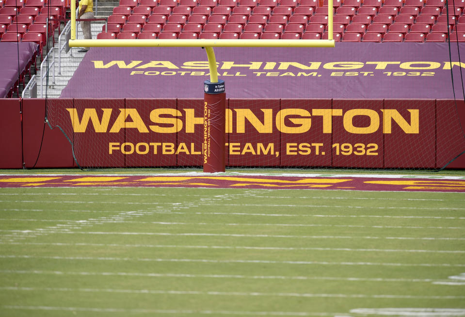 New Washington Football Team logos