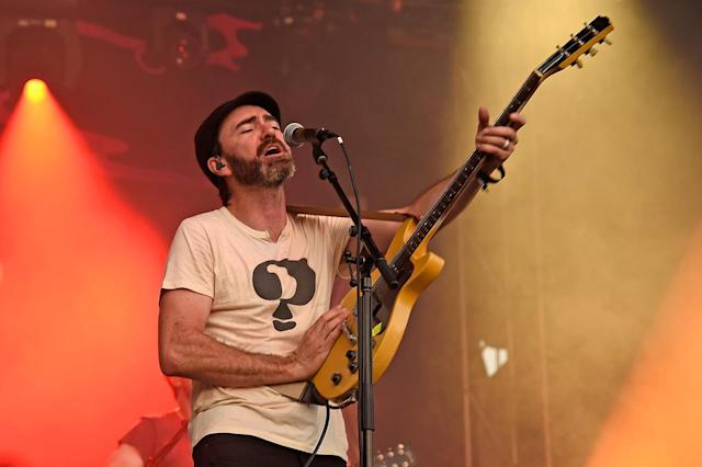 <p>James Mercer of The Shins performs onstage during the 2017 Firefly Music Festival on June 18, 2017 in Dover, Delaware. (Photo by Kevin Mazur/Getty Images for Firefly) </p>