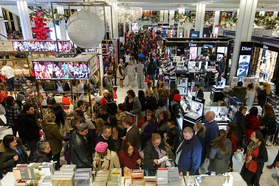 Black Friday crowds worst rated stores