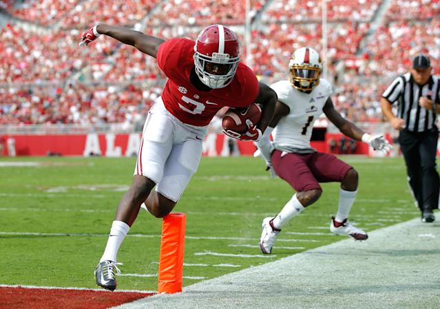 <p>This is an anomalously poor year for wide receivers, and there's little doubt Ridley will be the first one picked. While Ridley projects high in a lot of early mock drafts, his modest size – 6-foot-1, 190 pounds – may give some teams pause. </p>