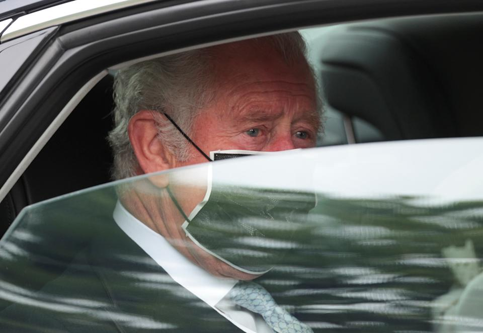 The Prince of Wales arrives for the State Opening of Parliament by the Queen, in the House of Lords at the Palace of Westminster in London. Picture date: Tuesday May 11, 2021.