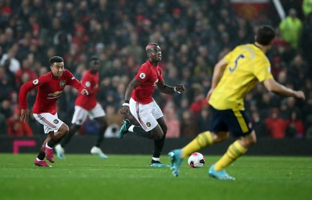 Paul Pogba last featured for United against Arsenal on September 30 (Nick Potts/PA)