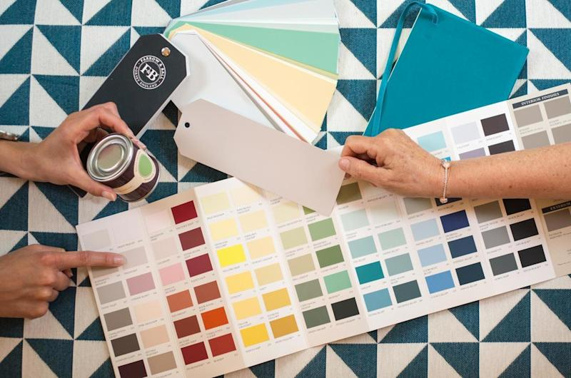 Your Colour Consultant will advise you on colour combinations