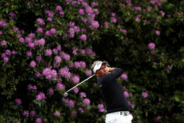 Golf - European Tour - BMW PGA Championship - Wentworth Club, Virginia Water, Britain - May 25, 2018 Thailand's Thongchai Jaidee during the second round Action Images via Reuters/Peter Cziborra