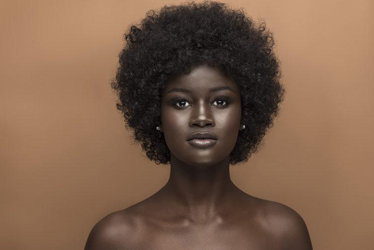 Khoudia Diop is using her influence to set the standard and redefine how we see beauty. (Photo: Make Up For Ever)