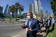 A number of Israeli start-ups in the fields of artificial intelligence, fintech and agriculture have set up shop in the UAE (AFP/Karim SAHIB)