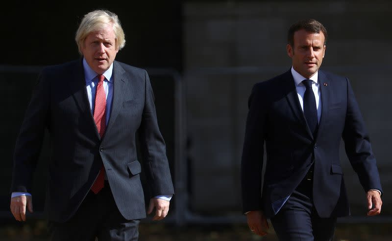UK will explore every avenue for EU deal, PM Johnson tells France's Macron