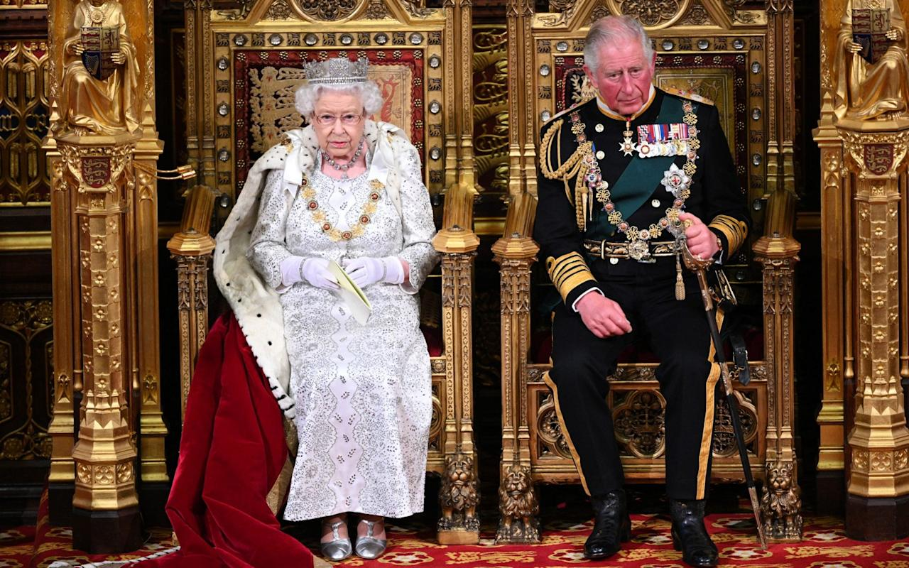 The Queen and The Prince of Wales at the State Opening of Parliament - Paul Edwards The Sun