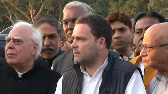 Congress President Rahul Gandhi said as many as 114 MPs from 15 parties had signed the memorandum.