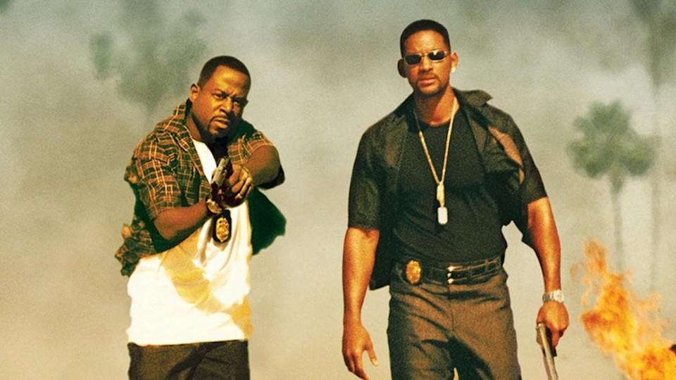 Martin Lawrence and Will Smith in 'Bad Boys 2'. (Credit: Sony Pictures)